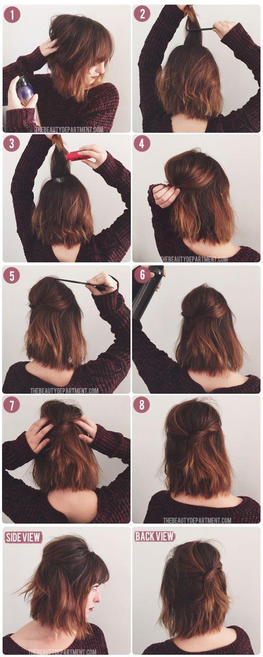 klipninger til langt hår