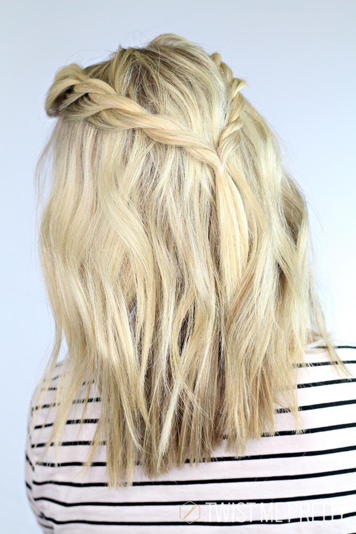 skulderlangt hår styling