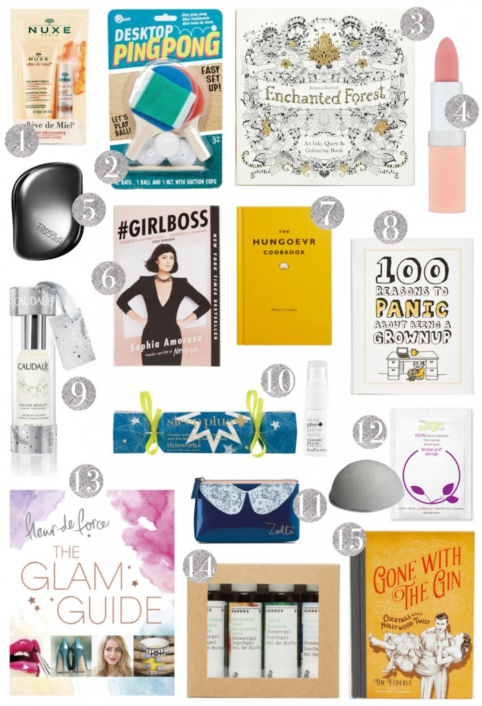 Christmas Gift Guide Hostess stocking fillers