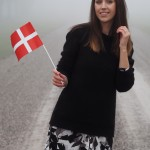 birthday girl with danish flag