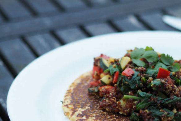 opskrift glutenfri pandekager med quinoafyld featured