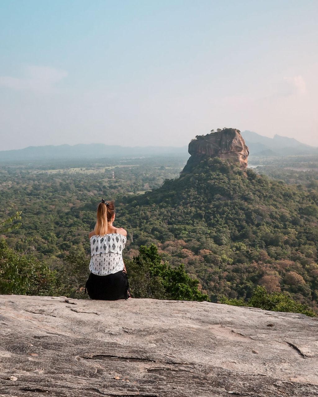 Sigiriya Sri Lanka - Pidurangala rock